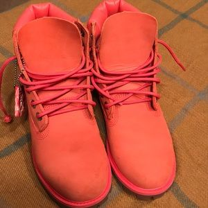 Timberland For Ladies Pink